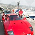 La Ferrari F40 à Saint-Jean-Cap-Légendes édition 2015 pendant le concours Youngtimers