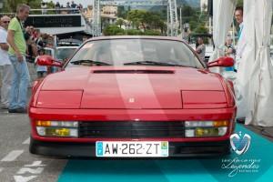 Défilé de la Ferrari Testarossa de 1984 à Saint-Jean-Cap-Légendes édition 2015 - Concours Youngtimers