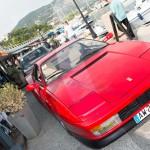 La mythique Ferrari Testarossa à Saint-Jean-Cap-Légendes édition 2015 pendant le Concours Youngtimers