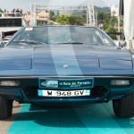 Défilé de la Maserati Khamsin de 1974 à Saint-Jean-Cap-Légendes édition 2015 - Concours Youngtimers