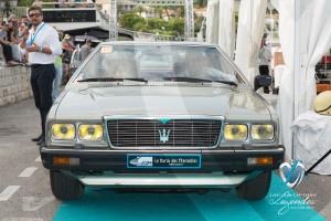 Défilé de la Maserati Quattroporte de 1980 à Saint-Jean-Cap-Légendes édition 2015 - Concours Youngtimers