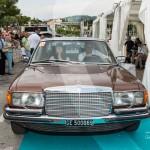 Défilé de la Mercedes 450 SEL de 1976 à Saint-Jean-Cap-Légendes édition 2015 - Concours Youngtimers