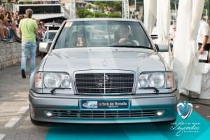Défilé de la Mercedes 500E de 1994 à Saint-Jean-Cap-Légendes édition 2015 - Concours Youngtimers