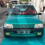 Défilé de la Peugeot 205 Gti Griffe de 1991 à Saint-Jean-Cap-Légendes édition 2015 - Concours Youngtimers