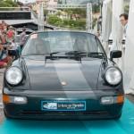 Défilé de la Porsche 964 Carrera 4 de 1989 à Saint-Jean-Cap-Légendes édition 2015 - Concours Youngtimers
