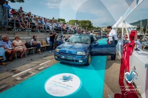 La Renault Clio Williams de 1995 présentée par Pierre Novikoff à Saint-Jean-Cap-Légendes édition 2015 – Concours Youngtimers