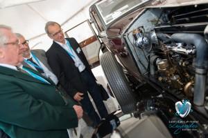 Rolls Royce Phantom I inspectée par le président du Jury Concours d'état Robert Louis Brezout à Saint-Jean-Cap-Légendes édition 2015 – Concours d'état