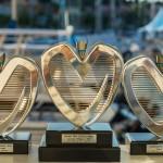 Les trophées des lauréats à Saint-Jean-Cap-Légendes édition 2015 - Concours Internationaux et Exposition de voitures de collection
