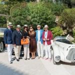 L'Alfa Roméo 6C 1750 GS Aprile au coté de la Rolls Royce Silver Wraith et de leurs équipages à la Villa Ephrussi de Rothschild