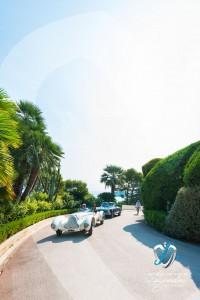 L'Alfa Roméo 6C 1750 GS Aprile et les lauréats se donne rendez-vous à la Garden Party de la Villa Ephrussi de Rothschild