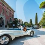 L'élégance Automobile à la Villa Ephrussi de Rotschild avec le Grand Prix d'Excellence en concours d'élégance, l'Alfa Romeo 6C 1750GS Aprile