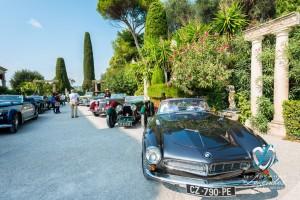 Rendez-vous de l'élégance Automobile à la Villa Ephrussi de Rothschild à Saint-Jean-Cap-Légendes édition 2015
