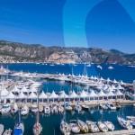 Vue aérienne de Saint-Jean-Cap-Ferrat Légendes - Concours Internationaux et Exposition de voitures de collection