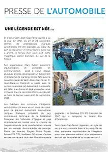 Presse de l'automobile - Une légende automobile est née