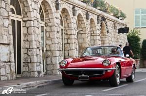 Saint-Jean-Cap-Ferrat Legendes - Team Publicite - Maserati Mistral Cab