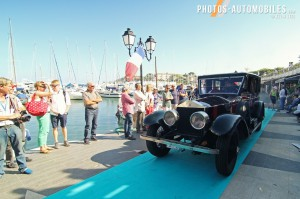 Saint-Jean-Cap-Ferrat Legendes - concours elegance - Rolls Royce Silver Ghost