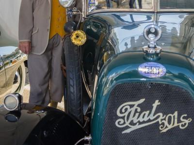 Saint-Jean-Cap-Ferrat Legendes - Concours Elegance - FIAT 501 S