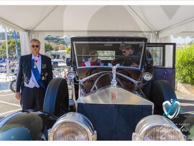 Rolls Royce Silver Ghost au concours d'élégance