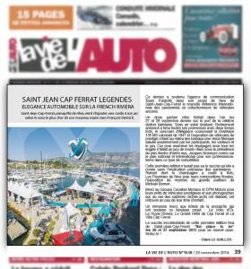 La vie de l'auto - Élégance automobile sur la French Riviera