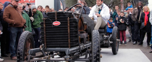 Marc Gallon à bord de la Bugatti De Dietrich Type 5