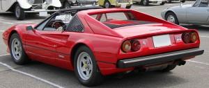 Ferrari 308 GTS au concours Youngtimers