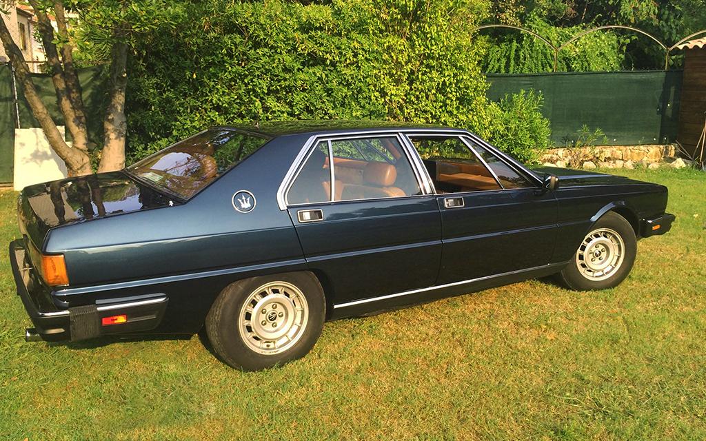 Maserati Quattroporte au concours Youngtimers