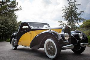 Bugatti 57C Atalante au concours d'état