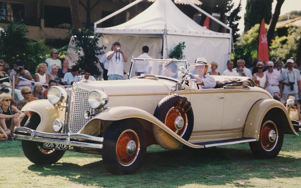 Chrysler Roadster CD de Luxe au concours d'état