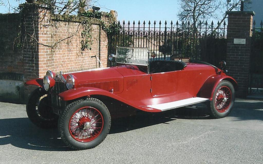 Lancia Lambda Spyder au concours d'élégance