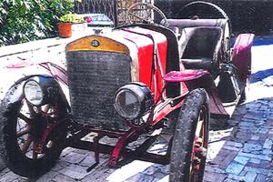 Spa Tipo 25/30hp au concours d'élégance