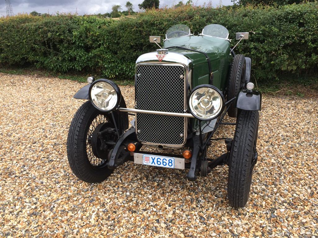 Alvis 12/60 TK Sport au concours d'élégance en automobile