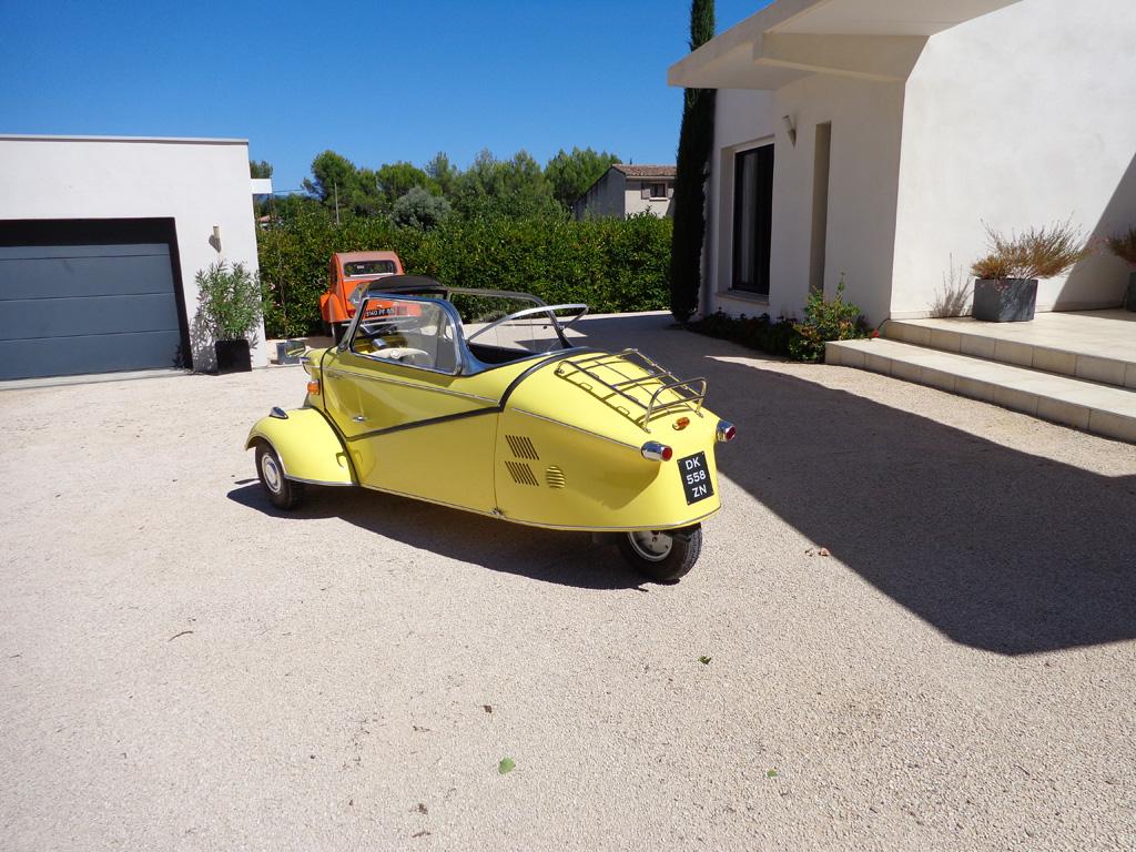 Messerschmitt KR200 au concours d'État