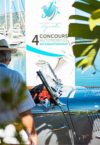 4 concours automobiles internationaux - Saint-Jean-Cap-Ferrat Légendes 2015