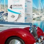 Préparation au défilé de la superbe Delahaye 135M Figoni & Falaschi à Saint-Jean-Cap-Légendes édition 2015 - Concours d'élégance & Exposition Automobile