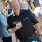 Cocktail à l'hôtel de la Voile d'Or avec Bernard Richards de BRM Chronographe, partenaire l'événement à Saint-Jean-Cap-Légendes édition 2015