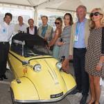 Inauguration de l'événement avec Marc Gallon & Jean-François Dieterich à Saint-Jean-Cap-Légendes édition 2015 - Concours d'élégance & Exposition Automobile