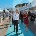 Inauguration avec Marc Gallon, organisateur de SJCF Légendes à Saint-Jean-Cap-Légendes édition 2015 - Concours d'élégance & Exposition Automobile