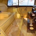 L'intérieur tout Hermès de la Rolls Royce Silver Wraith de 1957 à Saint-Jean-Cap-Légendes édition 2015 - Concours et Exposition de voitures de collection