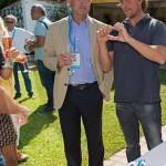 Cocktail à l'hôtel de la Voile d'Or avec Jean-François Dieterich, maire de Saint-Jean-Cap-Ferrat et Bruno Gobillard à Saint-Jean-Cap-Légendes édition 2015