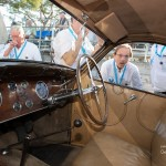 L'authenticité d'une Bugatti Atalante type 57C avec son intérieur en cuir à Saint-Jean-Cap-Légendes édition 2015 - Concours d'état