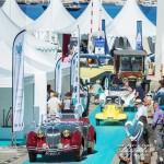 Défilé des véhicules participants au concours d'état à Saint-Jean-Cap-Légendes édition 2015 - Concours d'état & Exposition Automobile