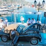La Jaguar XK140 Special Equipment à Saint-Jean-Cap-Légendes édition 2015 - Concours et Exposition de voitures de collection