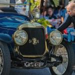 Panhard & Levassor X23 de 1913 aux mains de notre partenaire Protech Monte-Carlo à Saint-Jean-Cap-Légendes édition 2015 - Concours d'état