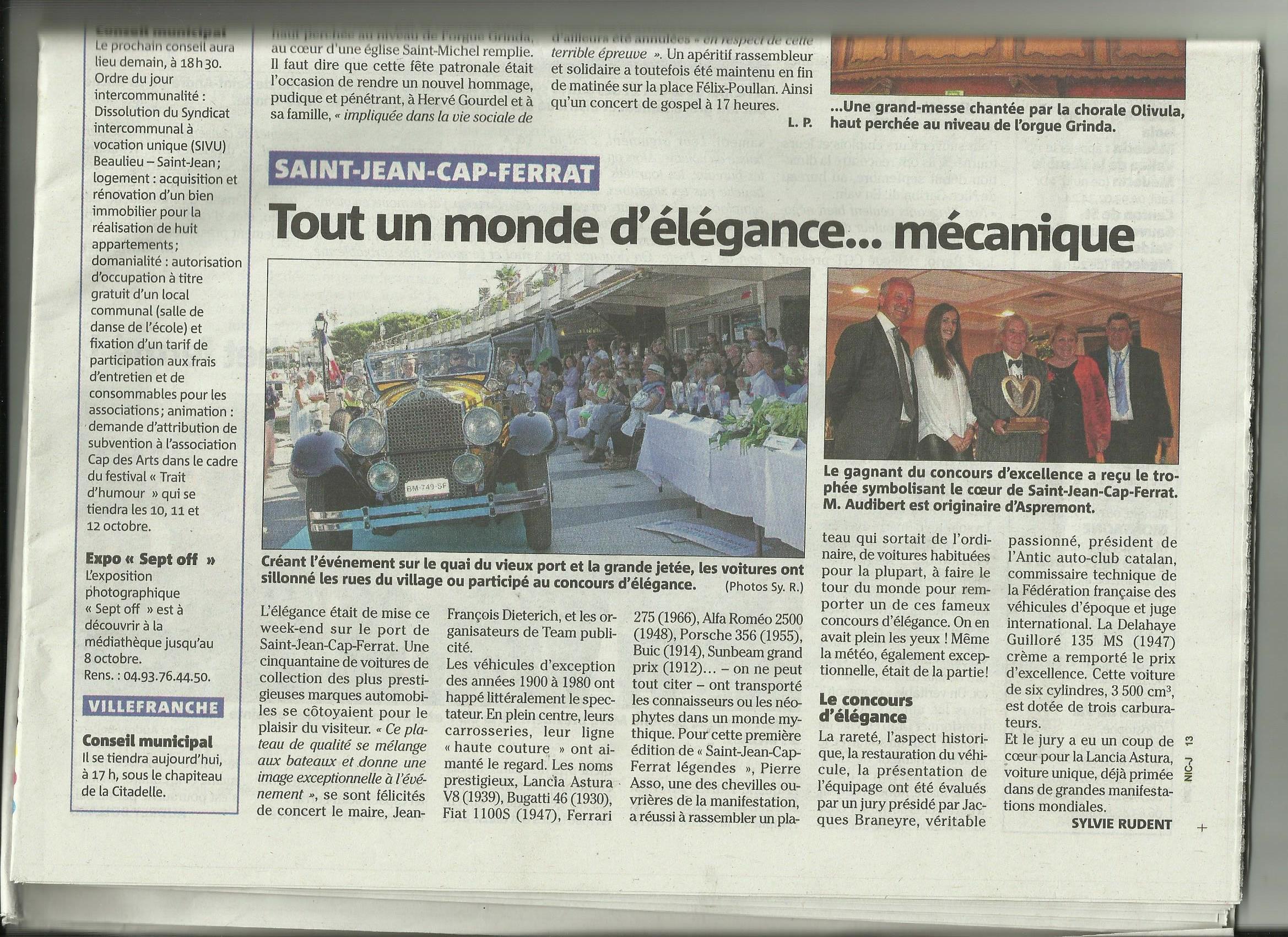 Articles communiqu s dossiers de presse saint jean cap - Office du tourisme saint jean cap ferrat ...